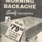 Oct. 28, 1957   Sealy Posturepedic mattress   ad (# 3425)
