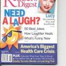 Readers Digest-     September 2003.