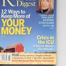 Readers Digest-    October 2003.