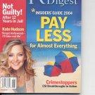 Readers Digest-    June 2004.