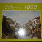 Masterworks  1000 piece puzzle-  A River in Alsace - NIB
