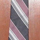 "Ketch  58""  necktie- Browns and blacks- (# 10)"