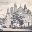 St. Patrick's R.C. Church, Poona  Postcard-  (# 124)