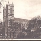 London, Westminster Abbey from Dean's Yard   Postcard-  (# 127)