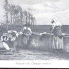 Fontanile nella Campagna romana   Postcard-  (# 128)