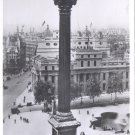 Nelson's column, Trafalgar Square, London    Postcard-  (# 133)