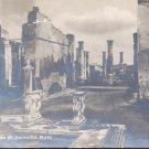 Pompei  Casa di Cornello Rufo     Postcard-  (# 136)
