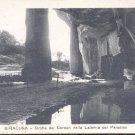 Siracusa- Grotta dei Cordari nella Latomia Del Paradiso   Postcard-  (# 137)