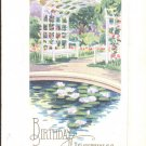 Birthday Greetings    Postcard  (#168)