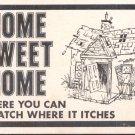 Home Sweet Home    Postcard  (#189)