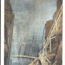 Shoshone Dam 328 ft, Yellowstone Park     Postcard  (#194)