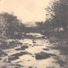 Looking Down Farmington River, Otis, Mass.   postcard  (#222)