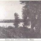 Scene near Forestdale, Mass.   postcard   (#224)