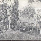 Dedham, Mass. Fairbanks House built 1636   postcard   (#228)