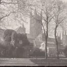 Canterbury Cathedral, N.E.  postcard   (#237)