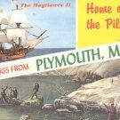 The Mayflower II- Plymouth, Mass.  postcard   (#239)
