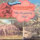 Greetings from Mississippi The Hospitality State  postcard   (#242)
