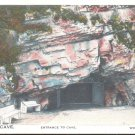 Woodward Cave. Entrance to Cave.  Woodwward, Pa. postcard   (#248)
