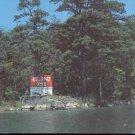 Arthur Godfrey Island 793 located in International Rift. N.Y   postcard   (#252)