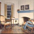 John Vogler House Parlor in Old Salem- Winston-Salem N.C.  postcard  (#272)