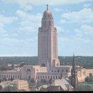 The Nebraska State Capitol- Lincoln, Nebraska   postcard  (#273)