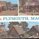 Historic Plymouth, Massachusetts .  Postcard (# 278)