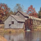 Autumn scene showing Mabry Mill on Blue Ridge Parkway   Postcard  (# 297)