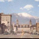 Pikes Peak Avenue Colorado Springs, Colorado    Postcard (# 308)
