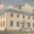 U. S. Post Office Guntersville, Ala.  Postcard  (#318)