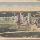 Texas Oil Refinery   Postcard  (#319)