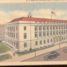 U.S. Post Office and court house, Cedar Rapids, Iowa   Postcard  (#323)