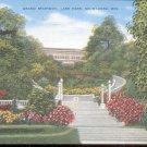 Grand Stairway, Lake Park, Milwaukee, Wis.  Postcard  (#327)