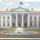 White House, Washington, D. C.  Postcard  (#336)