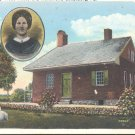 Jenny Wade House and Monument, Gettysburg, Pa.    Postcard  (#340)