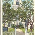 Congregational Church, Nantucket, Mass.     Postcard  (#341)