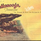 Souvenir Folder of Chattanooga, Tennessee   Postcard booklet  (#354)