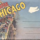 Greater Chicago    Postcard booklet   (#359)