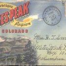 Picturesque PikesPeak region Colorado      Postcard booklet   (#361)