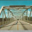 Bridge over the Florida Suwannee River      Postcard  ( # 382)