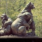 Brookgreen Gardens Murrells Inlet, South Carolina- Brown Bears     Postcard(# 391)