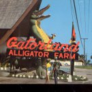 Gatorland  Alligator Farm  St. Augustine, Florida      Postcard (# 422)