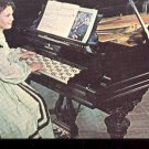 Concert Grand Piano with Janko Keyboard at White Springs, Fla  Postcard (# 424)