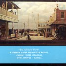 """The Glendy Burk ""- Stephen Foster memorial Florida     Postcard (#433)"