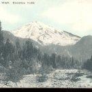 Mt. Rainier , Washington  Elevation 14, 556   Postcard (#445)