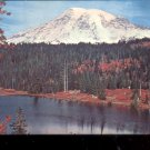Mt. Rainier  and Mirror Lake- Washington     Postcard (#463)