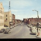 Street scene in Coeur d;Alene   Postcard (#480)