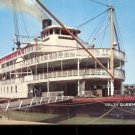 The Delta Queen- A Mississippi River steamer       Postcard (#484)