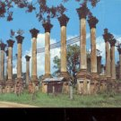 Ruins of Windsor Located  near Lorman, Mississippi       Postcard (#486)