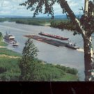The Mighty Mississippi      Postcard (#488)
