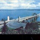 Lake Washington Floating Bridge   Postcard (#514)